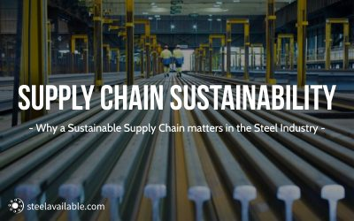 The Path to a Sustainable Supply Chain in the Steel Industry