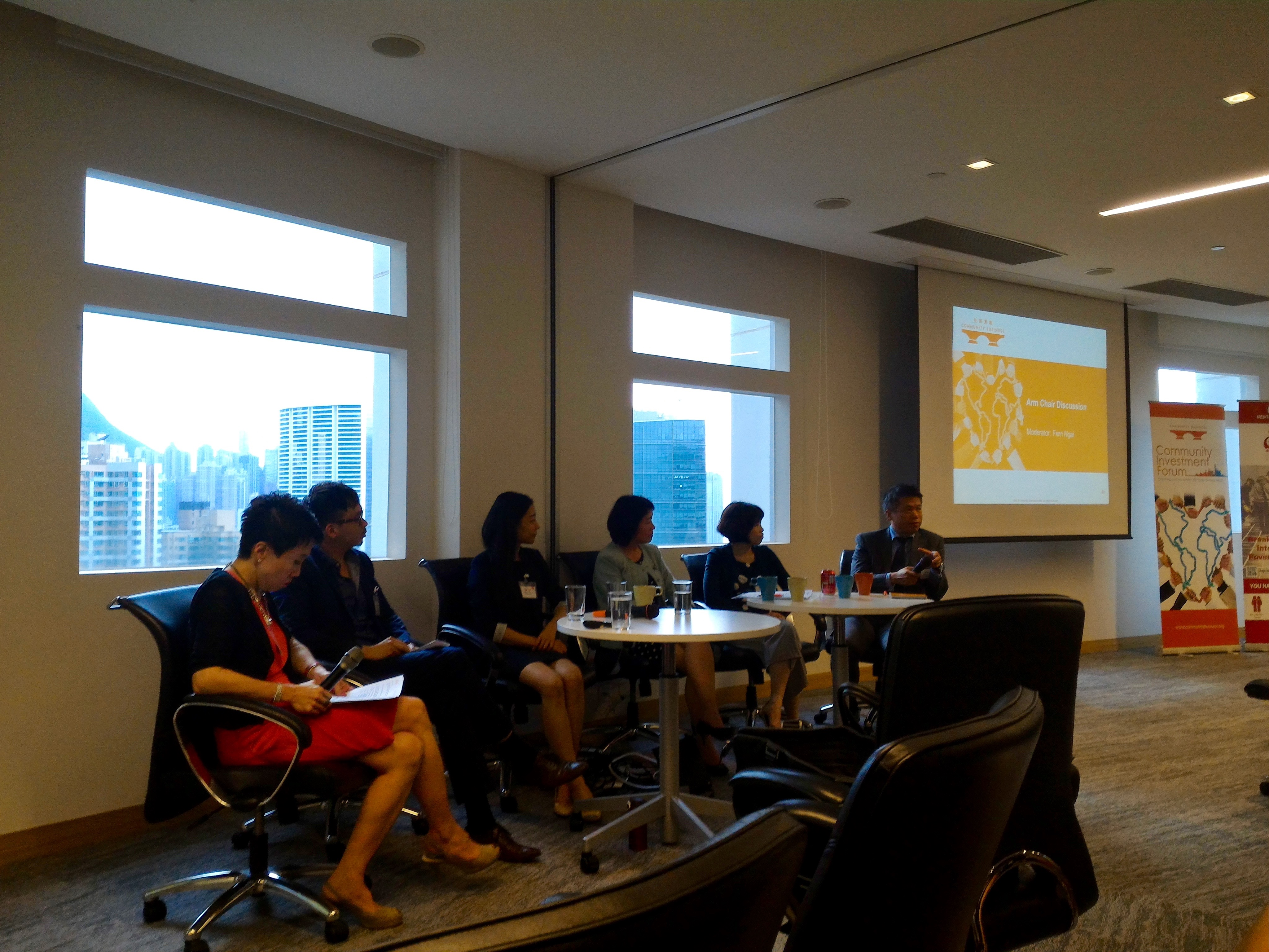 Panelists discuss sustainability in Hong Kong