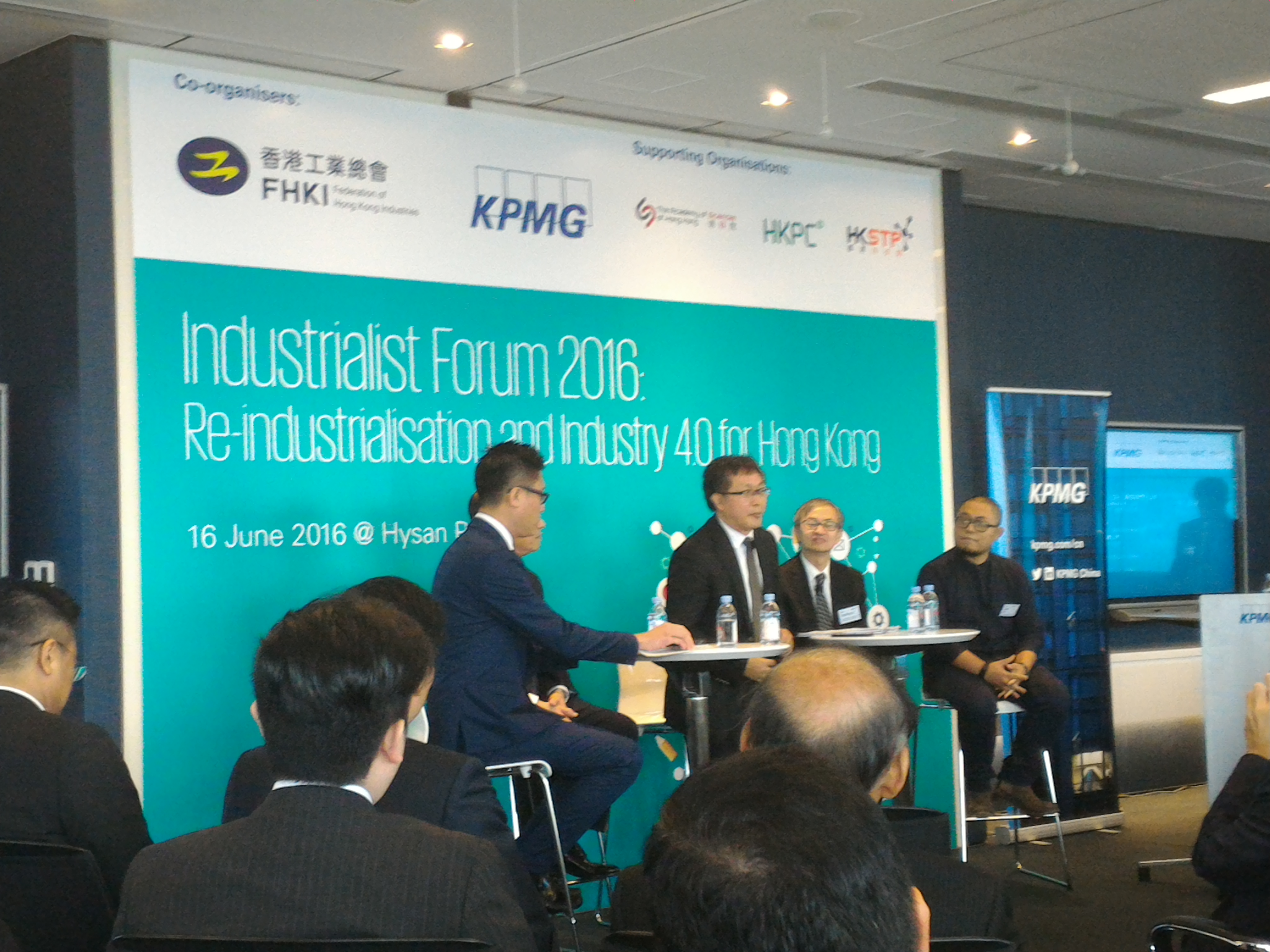 Re-industrialization and Industry 4.0 for Hong Kong