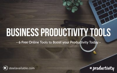 6 Free Online Tools To Boost Business Productivity Today