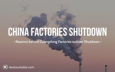 Reasons behind Guangdong factories sudden shutdown