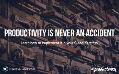 Productivity is never an accident! So learn how to implement it.