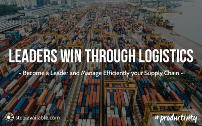 Become a leader and manage efficiently your supply chain!
