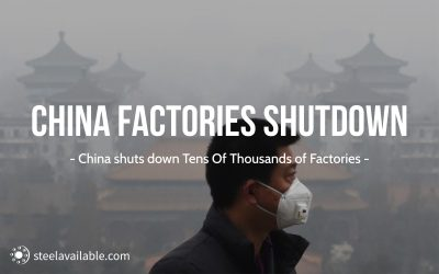 Thousands of Factories are shut down in China