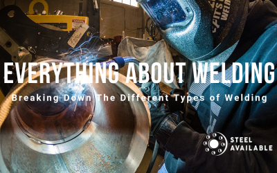 Breaking Down The Different Types of Welding