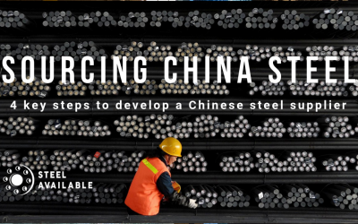 4 key steps to develop a Chinese steel supplier