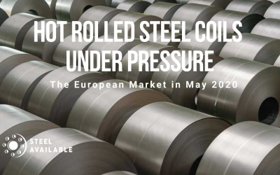 Hot Rolled Steel Coils from Europe under price pressure in May 2020
