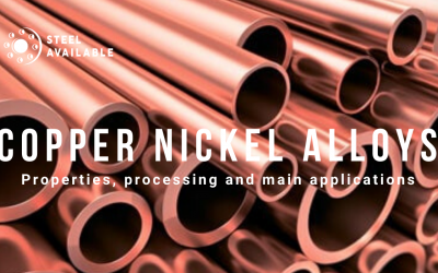 Copper nickel alloys: properties, processing and main applications